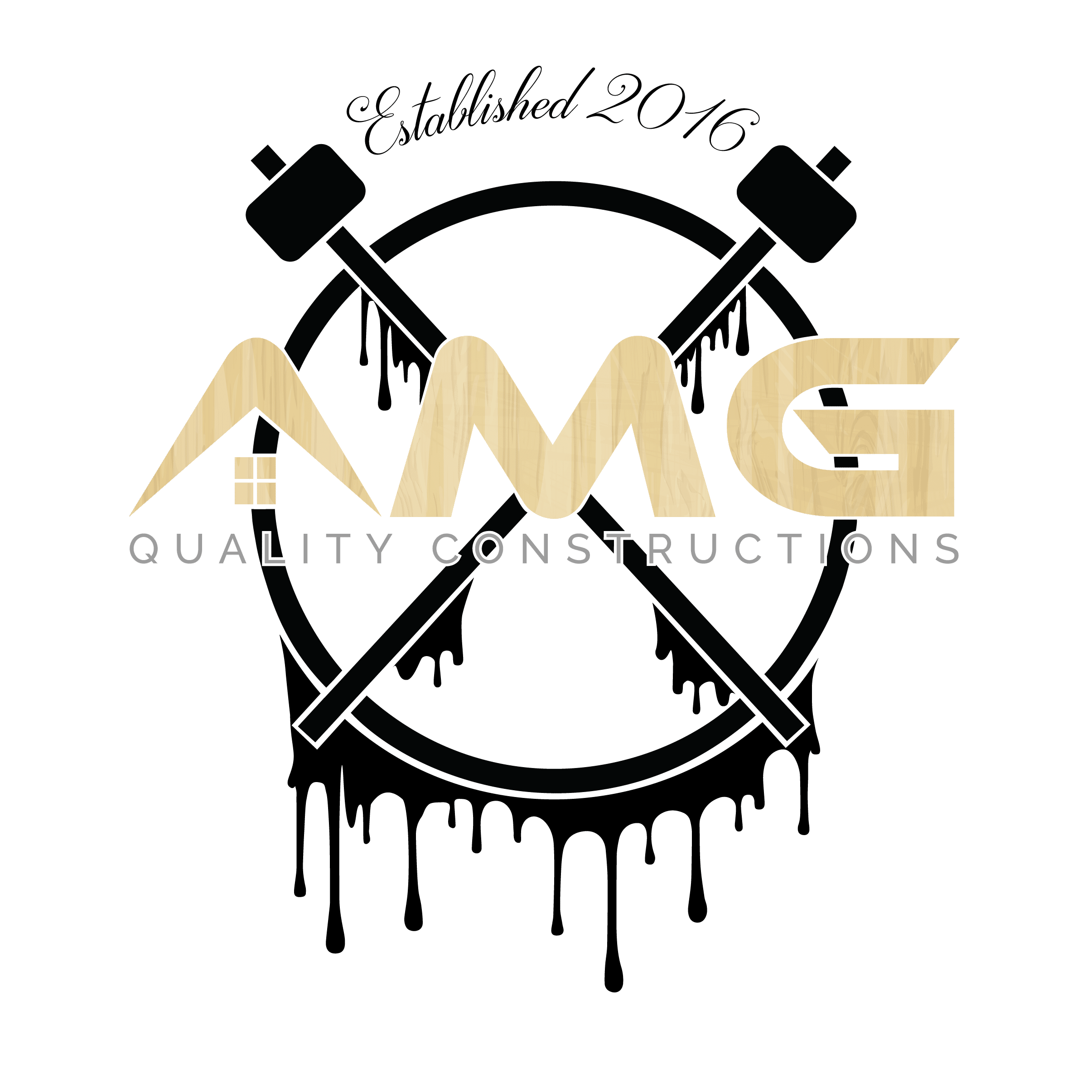 AMG Quality Constructions Logo
